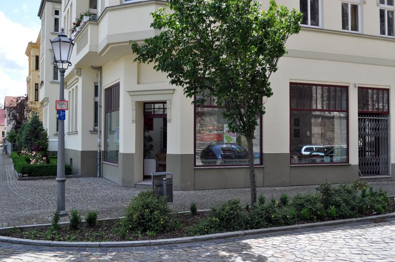 SPD-Bürgerladen in der Pfännerstraße 35