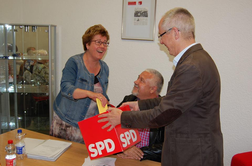 Vorstandswahlen des SPD-Ortsvereins Schönebeck